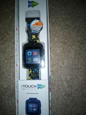 Kids I touch swivel play zoom smart watch for Sale in Bolingbrook, IL