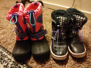 Snow boots for girl's for Sale in Clovis, CA