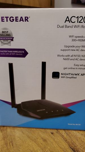 Netgear AC1200 Dual Band WiFi Router for Sale in Miami, FL