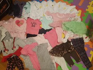 Baby girl clothes and accessories bundle for Sale in Elkridge, MD