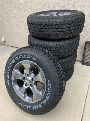 Jeep wheels and tires for Sale in Murrieta, CA