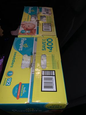 Pampers swaddlers & honest for Sale in East Cleveland, OH
