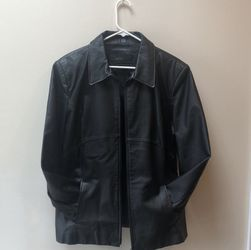 Jacqueline Ferrar Black Leather Jacket, Women's XL for Sale in West Chester,  PA