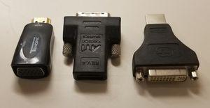 HDMI - DVI - VGA adapters for Sale in Nashville, TN