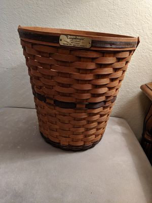 Vintage 1988 Longaberger basket for Sale in Clearwater, FL