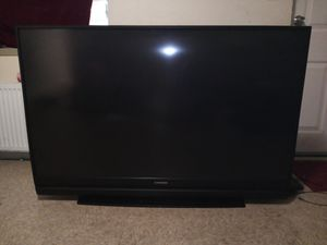 """""""60 inch TV +works great+ no remote for Sale in Baltimore, MD"""