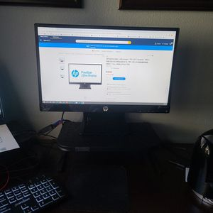 HP Pavilion 22bw Monitor (2 monitors) for Sale in San Diego, CA