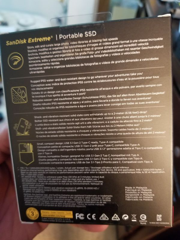 Sandisk 1TB SSD