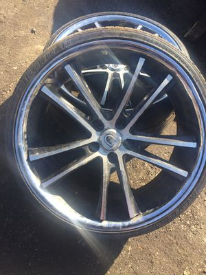 22 inch Ashanti rims for Sale in Temple Hills, MD