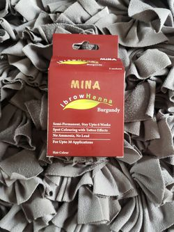 Mina Professional Eyebrow Henna In Burgundy for Sale in Brookfield,  IL