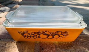 Vintage Pyrex Old Orchard 503 Fridgie for Sale in Laguna Niguel, CA