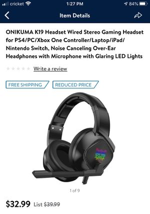 Gaming headphones for Sale in Nashville, TN