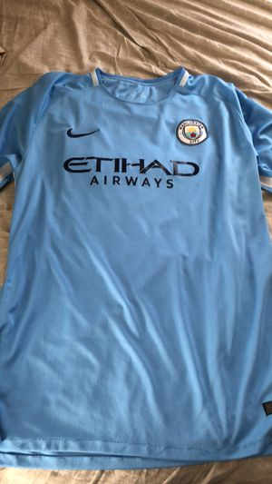 Man City Sergio Augero Jersey 2017 for Sale in Sterling, VA