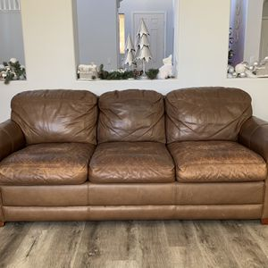 Sofa, Loveseat And Chair (leather) for Sale in San Diego, CA