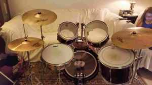 5 piece drum set for Sale in Denver, CO