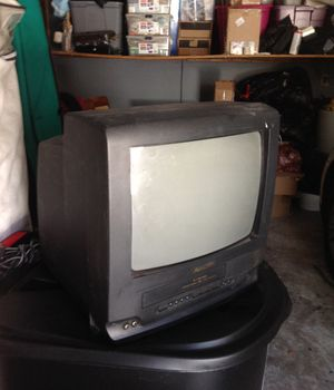 Panasonic old fashion VCR TV for Sale in Randallstown, MD