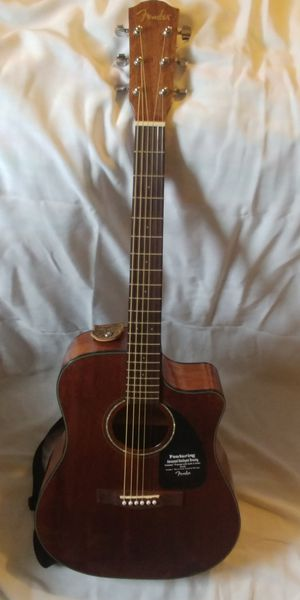Fender Acoustic Guitar and Case for Sale in Washington, DC