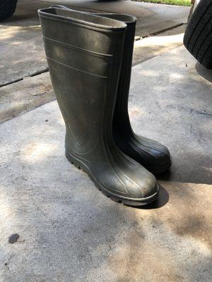 Steel Toe Rain Boots for Sale in Houston, TX