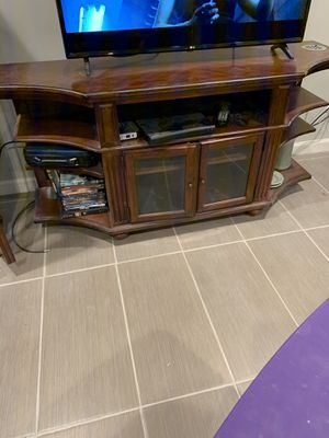 All wood TV stand for Sale in Phoenix, AZ
