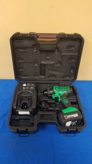 "Matco Tools 20V 3/8"" High Power Impact Wrench w/ Battery, Charger and Case (Model MCL2038HIW) for Sale in Marietta, GA"