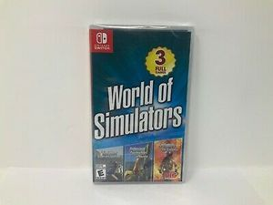 World of simulators 3 games in one for Sale in West Jordan, UT