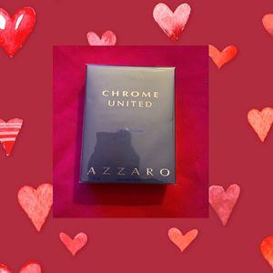 Chrome United Azzaro Men Cologne for Sale in Moreno Valley, CA