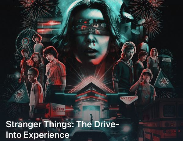 Stranger Things Drive into Experience