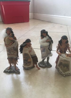 Native American Ashton-Drake Galleries collection - porcelain for Sale in Miami, FL