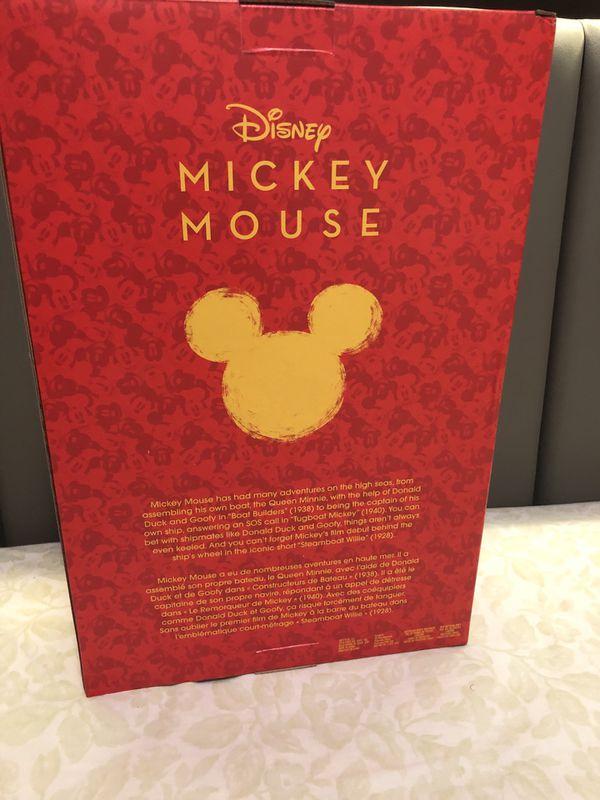 Disney Limited edition Mickey Mouse sailor plushy