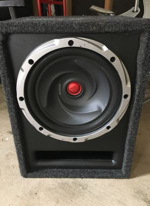 "Kenwood 12"" subwoofer for Sale in Rockville, MD"