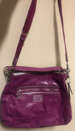 Coach purse used ok condition for Sale in Herndon, VA