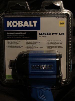 Kobalt compact impact wrench for Sale in Denver, CO
