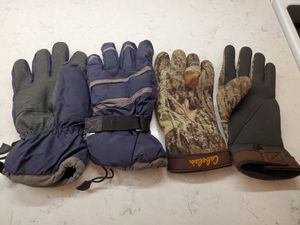 Fishing Gloves (Cabela's gloves are rubber) for Sale in Milwaukee, WI
