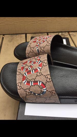 Gucci slides 🔥🔥 for Sale in Dallas, TX