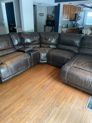 FREE!! Couch with recliners for Sale in Pittsburgh, PA