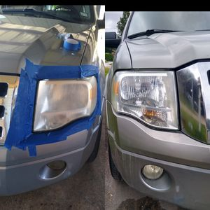 Headlight restoration, $30. Ill go to you. for Sale in Houston, TX