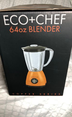 Copper Eco Chef 64 oz blender for Sale in Glendale, AZ