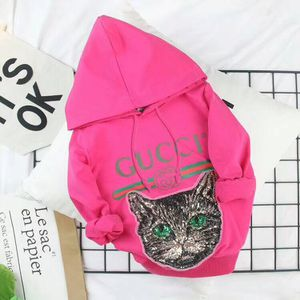 Authentic Gucci Mystic Sequin Cat Hoodie Hoodie Sweatshirt for Sale in Silver Spring, MD
