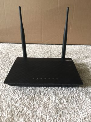 ASUS RT-N12 Wireless Router for Sale in Gaithersburg, MD