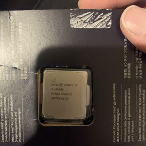 Intel I5 8600k CPU FOR PC BUILD Best Offer for Sale in Avondale, AZ
