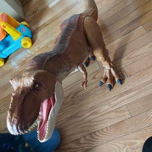 Jurassic World Super Colossal Tyrannosaurus Rex Dinosaur for Sale in Bellwood, IL