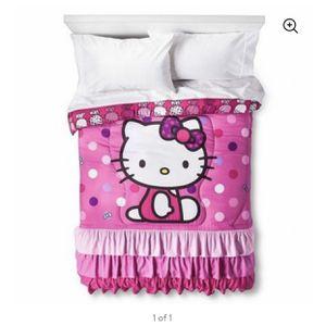 Hello Kitty Twin Comforter Set for Sale in Visalia, CA