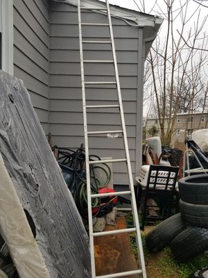 Good condition ladders is big 13 feet for Sale in Baltimore, MD