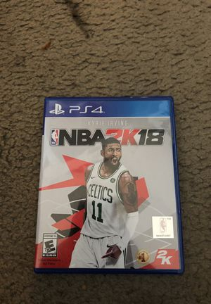 NBA 2K18 Never Used for Sale in Los Angeles, CA
