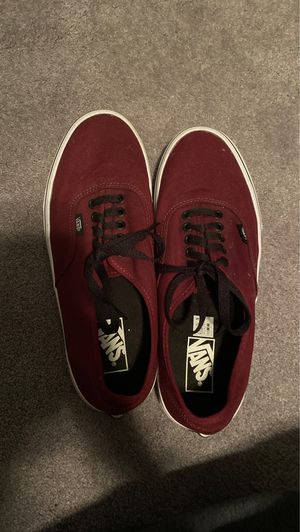 Vans lows maroon for Sale in Downingtown, PA
