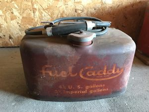 Vintage Fuel Caddy 4 1/4 Gal Gas Can for Sale in Neenah, WI