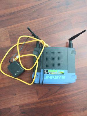 Linksys Wireless-G router for Sale in Burlington, NJ