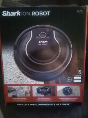 SHARK ion ROBOT R75, Robotic Vacuum for Sale in Miami, FL
