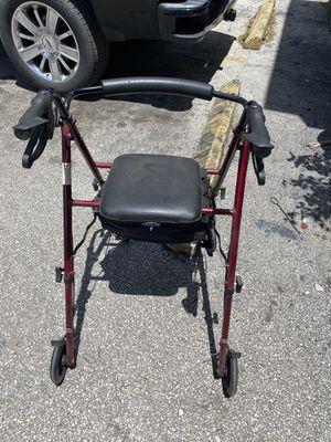 Folding rolling walker for Sale in Oakland Park, FL