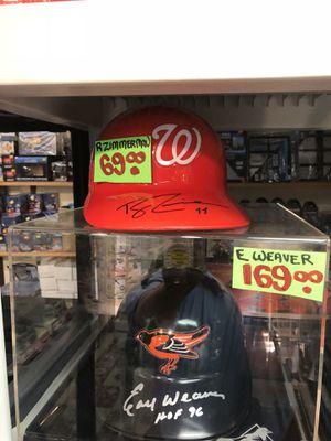 Earl Weaver Signed Batting Helmet complete w/ UV Deluxe Case! for Sale in Fairfax, VA